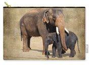 Bonding - Asian Elephants Houston Zoo Carry-all Pouch