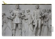 Bonham And Bowie On Alamo Monument Carry-all Pouch