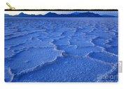 Bonneville Salt Flats At Dusk Carry-all Pouch