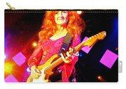 Bonnie Raitt In Concert Watercolor Carry-all Pouch