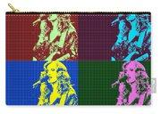 Bonnie Raitt Pop Art Poster Carry-all Pouch