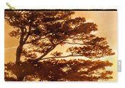 Bonsai Pine Sunrise Carry-all Pouch