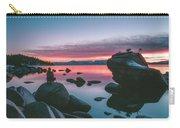 Bonsai Rock Sunset Carry-all Pouch