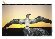 Booby At Sunset Carry-all Pouch
