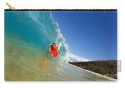 Boogie Boarding At Makena Carry-all Pouch
