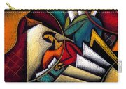 Book Carry-all Pouch by Leon Zernitsky