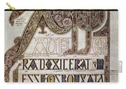 Book Of Lindisfarne Initial Carry-all Pouch
