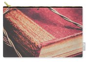 Book Of Secrets, High Security Carry-all Pouch