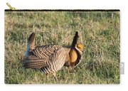 Booming Greater Prairie Chicken 5 Carry-all Pouch