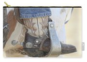 Boot And Spur Carry-all Pouch