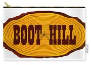 Boot Hill Log Sign Carry-all Pouch