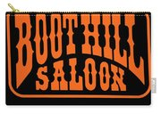 Boot Hill Saloon Sign Carry-all Pouch