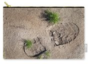 Boot Print In The Desert Carry-all Pouch