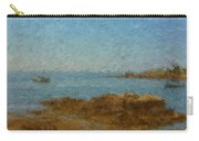 Boothbay Calm Day Ocean View Carry-all Pouch