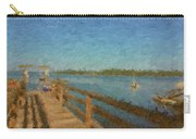 Boothbay Front Ocean View At Sunrise Carry-all Pouch