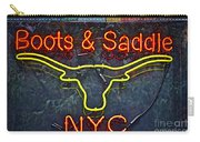 Boots And Saddle Nyc Carry-all Pouch