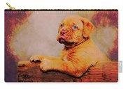 Bordeaux Mastiff Pup Carry-all Pouch