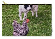 Border Collie Herding Chicken Carry-all Pouch