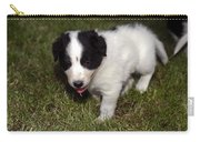 Border Collie Puppy Carry-all Pouch