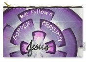 Border-crossing Jesus Carry-all Pouch