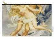 Boreas And Oreithyia Carry-all Pouch by Evelyn De Morgan