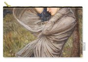 Boreas Carry-all Pouch by John William Waterhouse