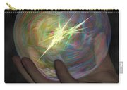 Born To Create - View With Or Without Red-cyan 3d Glasses Carry-all Pouch