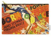 Born To Dance 1936 Retro Movie Poster Carry-all Pouch