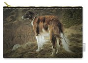 Borzoi Brindle Carry-all Pouch