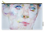 Bosie - Lord Alfred Douglas - Watercolor Portrait Carry-all Pouch