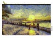 Bosphorus Sunset Art Carry-all Pouch