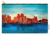 Boston Abstract Carry-all Pouch