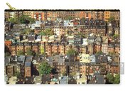 Boston Brownstone Architecture Carry-all Pouch