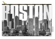 Boston Cityscape Carry-all Pouch