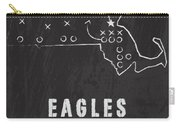 Boston College Eagles / Ncaa College Football Art / Chestnut Hill Massachusetts Carry-all Pouch by Damon Gray