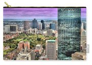 Boston From Above Carry-all Pouch