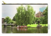 Boston Garden Swan Boat Carry-all Pouch