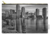 Boston Habor Sunrise Bw Carry-all Pouch