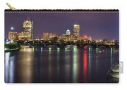 Boston Harbor Nights-panorama Carry-all Pouch