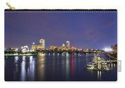 Boston Harbor Skyline Carry-all Pouch by Joann Vitali
