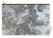Boston Map, 1903 Carry-all Pouch