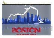 Boston Marathon 3a Running Runner Carry-all Pouch