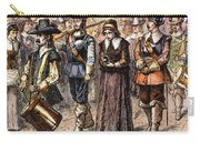Boston: Mary Dyer, 1660 Carry-all Pouch by Granger