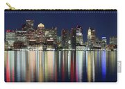 Boston Night Skyline Panorama Carry-all Pouch