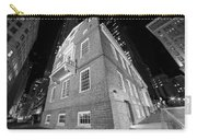 Boston Old State House Boston Ma Angle Black And White Carry-all Pouch