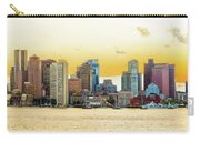 Boston Skyline Abstract Carry-all Pouch