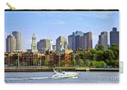 Boston Skyline Carry-all Pouch by Elena Elisseeva