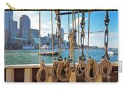 Boston Skyline From The Boston Harbor Carry-all Pouch