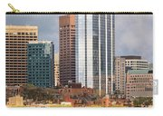 Boston Skyline Skyscraper Boston Ma Charles River Carry-all Pouch