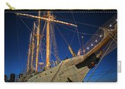 Boston Tall Ship Flags Boston Ma Sailors Blue Sky Carry-all Pouch